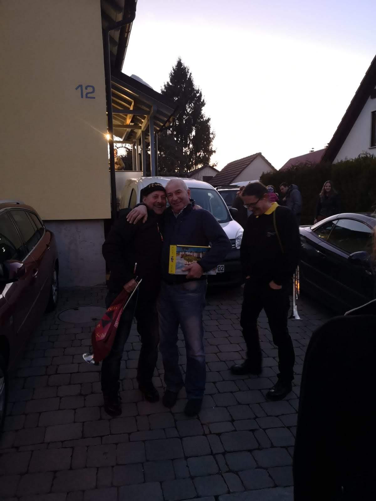 Geburtstagsständle bei Stefan Kling